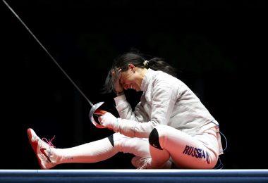 Софья Великая: Олимпийский призер 2016 года, серебро, сабли