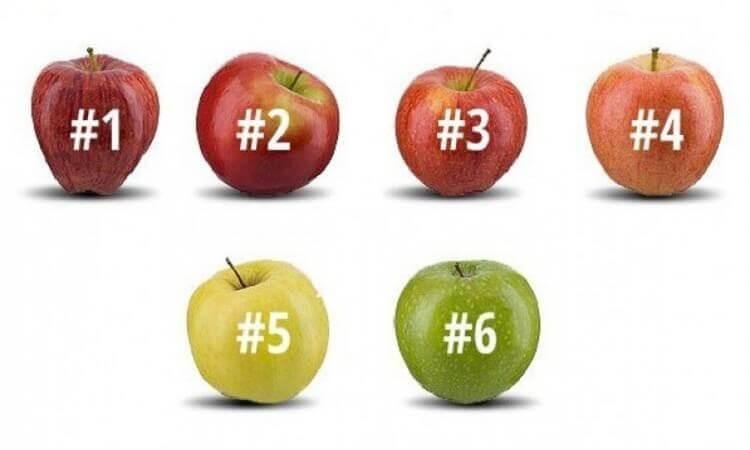 Тест: какое яблоко вы бы выбрали?