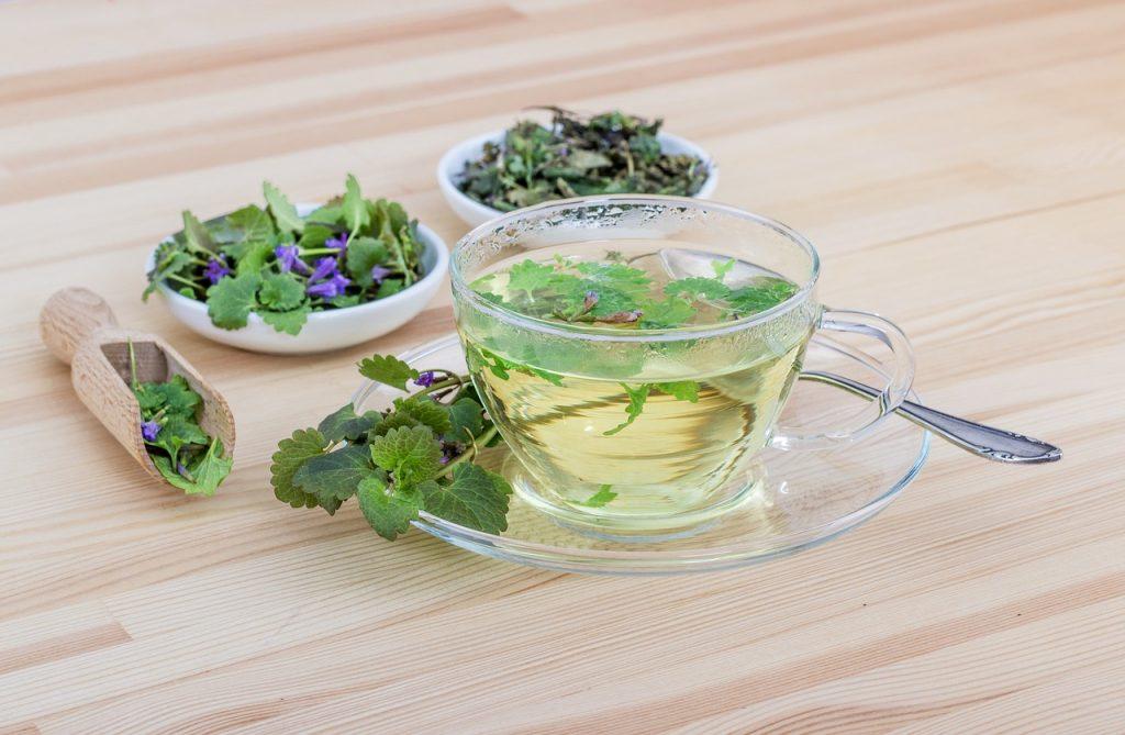 Травяной чай против жира