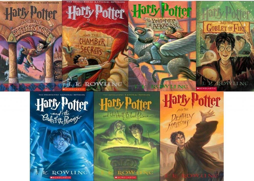 Серия книг «Гарри Поттер» Джоан Роулинг